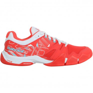 CHAUSSURES PADEL FEMME BABOLAT PULSA ROUGE
